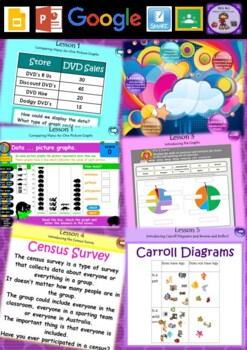 Year 3 & 4 Data Smart Notebook and Unit of Work Bundle 3