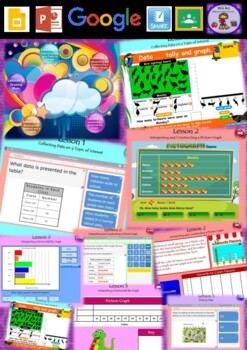 Year 3 & 4 Data and Position Smart Notebook and Unit of Work Bundle 1