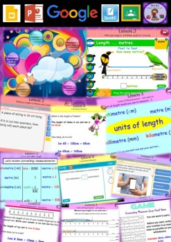 Year 3 & 4 Length Smart Notebook and Unit of Work Bundle 1