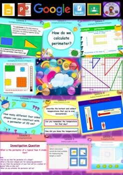 Year 3 & 4 Length & Temperature Smart Notebook and Unit of Work Bundle 2