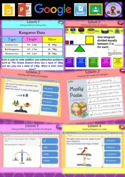 Year 3 & 4 Mass Smart Notebook and Unit of Work Bundle 2