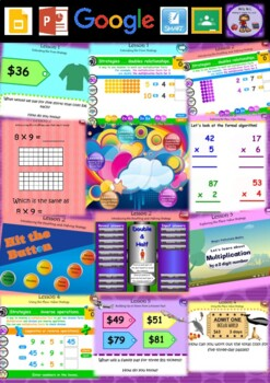 Year 3 & 4 Multiplication and Division Smart Notebook and Unit of Work Bundle 2