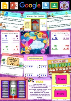 Year 3 & 4 Multiplication and Division Smart Notebook and Unit of Work Bundle 4