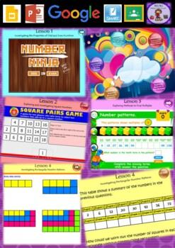 Year 3 & 4 Patterns and Algebra Smart Notebook and Unit of Work Bundle 2