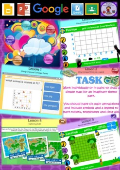 Year 3 & 4 Position Smart Notebook and Unit of Work Bundle 2