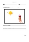 Year 3/4 Science Test on Heat