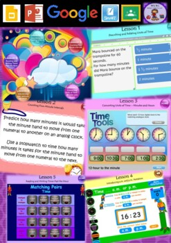 Year 3 & 4 Time Smart Notebook and Unit of Work Bundle 1