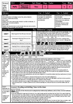 Year 3 & 4 Time Smart Notebook and Unit of Work Bundle 2