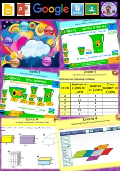Year 3 & 4 Volume and Capacity Smart Notebook and Unit of Work Bundle 2