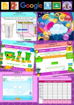Year 3 & 4 Volume and Capacity Smart Notebook and Unit of