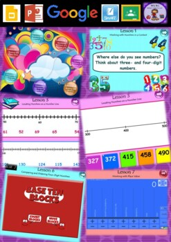 Year 3 & 4 Whole Number Smart Notebook and Unit of Work