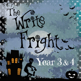 Year 3 & 4 Write Fright - Halloween Writing Challenges & Display