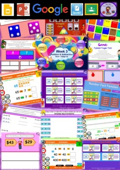 Year 3 Addition and Subtraction Smart Notebook and Unit of Work Bundle 1