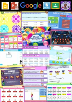 Year 3 Addition and Subtraction Smart Notebook and Unit of Work Bundle 3