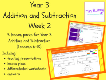 Year 3 Addition and Subtraction Week 2