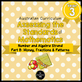 Year 3 Australian Curriculum Maths Assessment Part B Fract