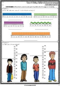 Year 3 Australian Curriculum Maths Assessment Measurement and Geometry