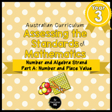 Year 3 Australian Curriculum Maths Assessment Part A Numbe