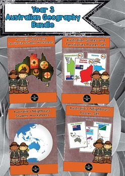 Year 3 Australian Geography Bundle