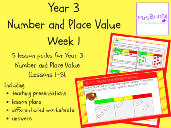 Year 3 Number and Place Value Week 1