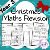 Year 3 Christmas Maths Revision - Australian Curriculum Aligned