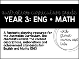 Year 3 Curriculum Guide: English and Maths only