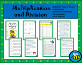 Year 3/ Grade 3 Multiplication and Division Worksheets and Assessment / Test