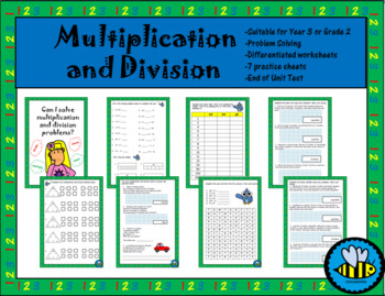 Year 3/ Grade 3 Multiplication and Division Worksheets and ...