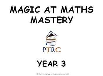 Year 3 Magic at Maths - Mastery pack