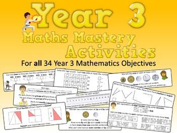 Year 3 Math Mastery Activities