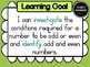 Year 3 Mathematics – Number & Algebra Learning Goals & Success Criteria Posters