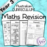 Year 3 Maths Revision - Australian Curriculum Aligned