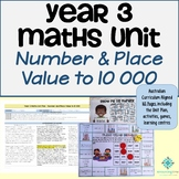 Year 3 Maths Unit - Number and Place Value to 10 000