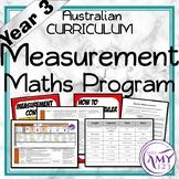 Year 3 Measurement Australian Curriculum Maths Program