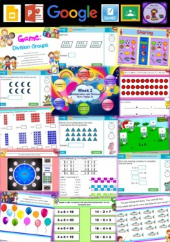 Year 3 Multiplication and Division Smart Notebook and Unit of Work Bundle 2
