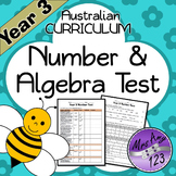 Year 3 ACARA Number Test