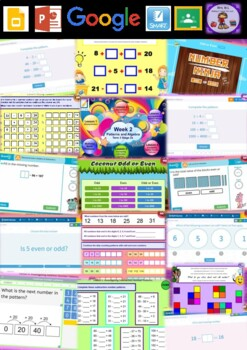 Year 3 Patterns and Algebra Smart Notebook and Unit of Work Bundle 2