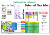 Year 3 Placemat 1
