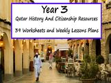 Year 3 Qatar History Worksheets