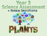 Year 3 Science Assessment: Plants + Poster