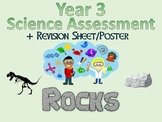 Year 3 Science Assessment: Rocks + Poster