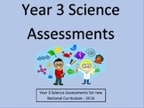 Year 3 Science Assessments and Tracking