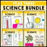 Year 3 Science Bundle Biological Chemical Earth Space Phys