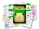 Year 3 Science Knowledge Organisers / Cheat Sheets - Mr A, Mr C and Mr D Present