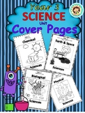 Year 3 Science Unit Cover Pages