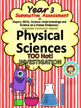 Year 3 Summative Assessment Physical Science