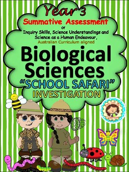 Year 3 Summative Assessment Biological Sciences