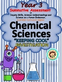 Year 3 Summative Assessment Chemical Sciences