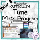 Year 3 Time Australian Curriculum Maths Program