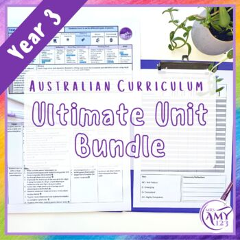 Year 3 Ultimate Bundle- Australian Curriculum Units, Tests and NAPLAN Revision